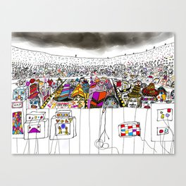 sold out show Canvas Print