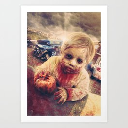 Baby Z Art Print