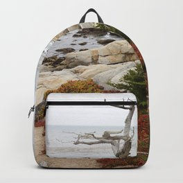 Dead Cypress At Pebble Beach Backpack