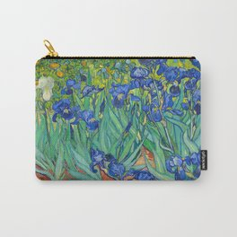 Vincent Van Gogh Irises Painting Carry-All Pouch