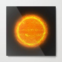 Huge Orange Star @ iGOTaSTAR.com Metal Print