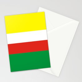 flag of Lubuskie or Lubusz Stationery Cards
