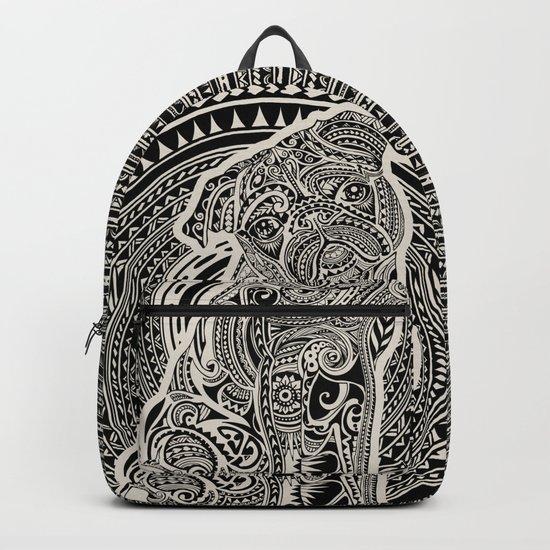 Polynesian Pug Backpack
