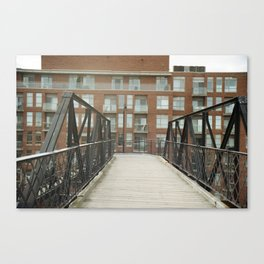 Junction Bridge Canvas Print