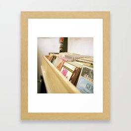 Spin me right round Framed Art Print