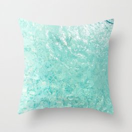 Pool Floor Throw Pillow