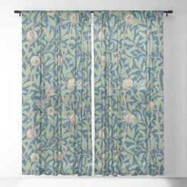 Birds and Pomegranates - William Morris Sheer Curtain