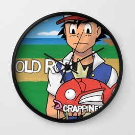 Old Rod.  Crappiness... Wall Clock