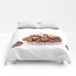 the cuberdons chocolate Comforters
