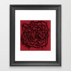 Frustrated Framed Art Print