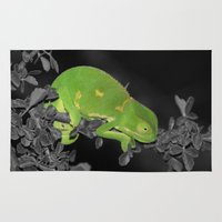 lizard Area & Throw Rugs featuring lizard by MF photo works