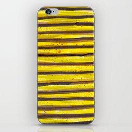 BUMBLE BEE SWIRL iPhone Skin