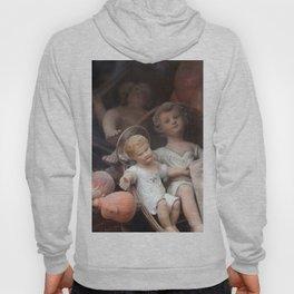 Vintage Baby Jesus Among Dolls Hoody