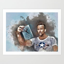 Flanery with Jane Two Art Print