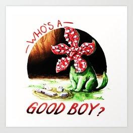whos a Good boy Art Print