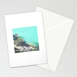 Turquoise Water Photo Stationery Cards
