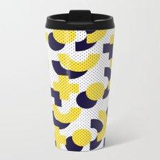 Pattern in 90 80 style Metal Travel Mug