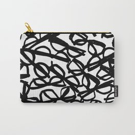 Black Eyeglasses Carry-All Pouch