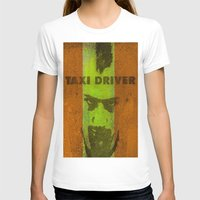 taxi driver T-shirts featuring Taxi Driver by Joe Ganech