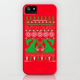 2015 BQ Ugly Sweatshirt (Festive) iPhone Case