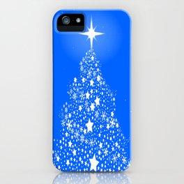 Star Spangled Snowflake Christmas Tree iPhone Case