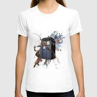 tardis T-shirts featuring tardis by erkamaj