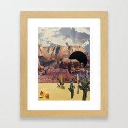 Portals: Desert Framed Art Print