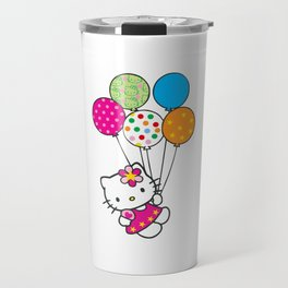 Kitty cat Travel Mug