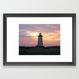 Edgartown Light Framed Art Print