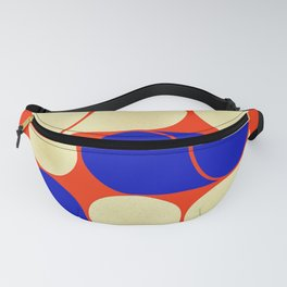 Mid-century geometric shapes-no10 Fanny Pack