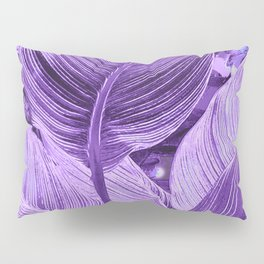 Alien plant Life Purple Pillow Sham
