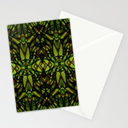 Fractal Art Stained Glass G313 Stationery Cards
