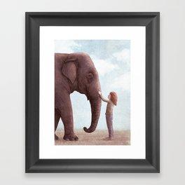 One Amazing Elephant Framed Art Print