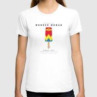 aquaman T-shirts featuring My SUPERHERO ICE POP - woman - No17 WONDER by Chungkong