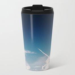 Blue Skies are calling, Groningen, Netherlands Travel Mug