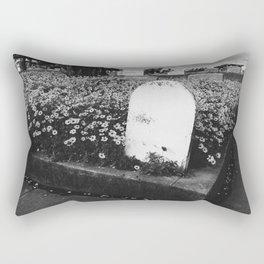 Cemetery in Bloom Rectangular Pillow