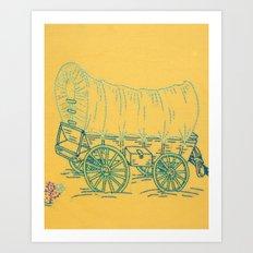 Dust and Adventure Art Print