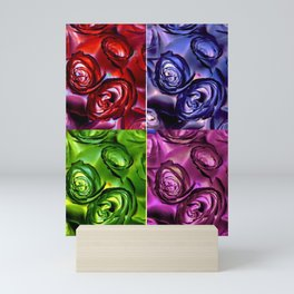 PSYCHEDELIC ROSES Mini Art Print