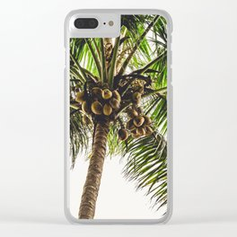 Coconut Bounty Clear iPhone Case