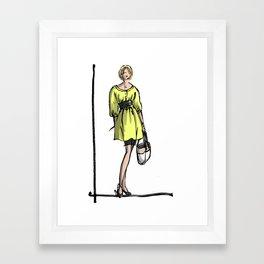 Greetje Framed Art Print