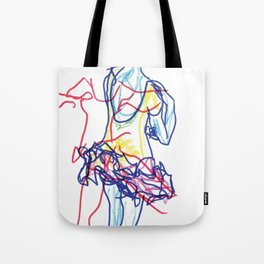 Badly Drawn Ballet (Pt. 3) Tote Bag