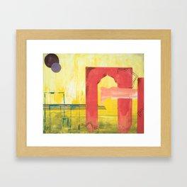 Mediterranean Vista Framed Art Print