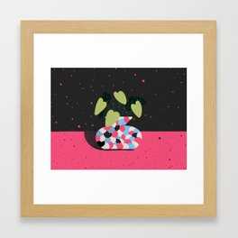 Just plants, the beauty is just beauty. The Begonia Framed Art Print