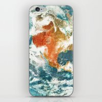 earth iPhone & iPod Skins featuring Earth by Terry Fan