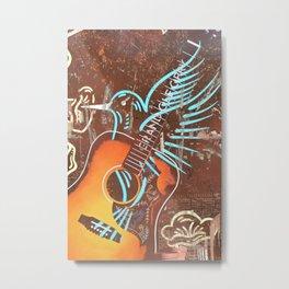 Opry Blue Bird Metal Print