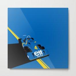 Tyrrell P34 Metal Print