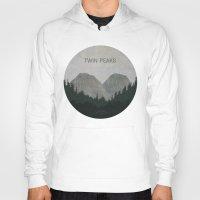 twin peaks Hoodies featuring Twin Peaks by avoid peril