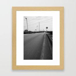 Go On Framed Art Print