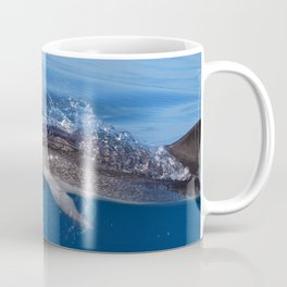 Mother and baby spotted dolphin Coffee Mug