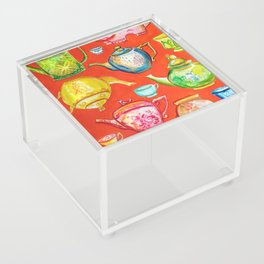 Tea Time Acrylic Box